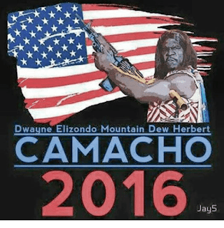 Idiocracy - Camacho for President 2016