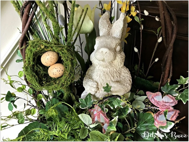 Easterm bunny decor