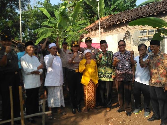 Polres Pati Bersama Baznas Peduli Bedah Rumah Warga Jagan Sukoharjo Pati