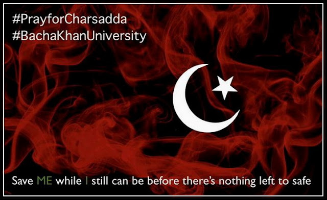 Pray For Charsadda #Bacha Khan University
