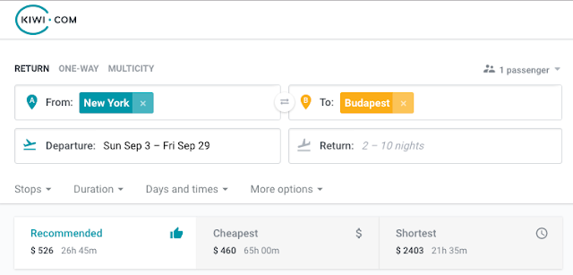 cheap flights from hungary