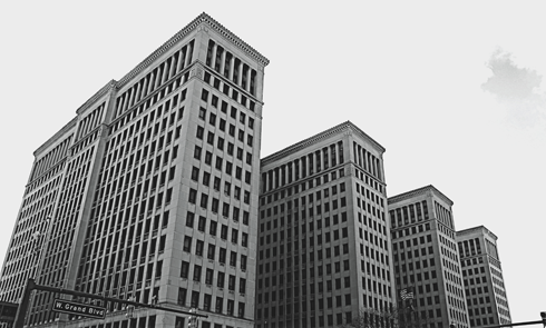 cadillac place detroit general motors building