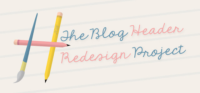 The blog header redesign project