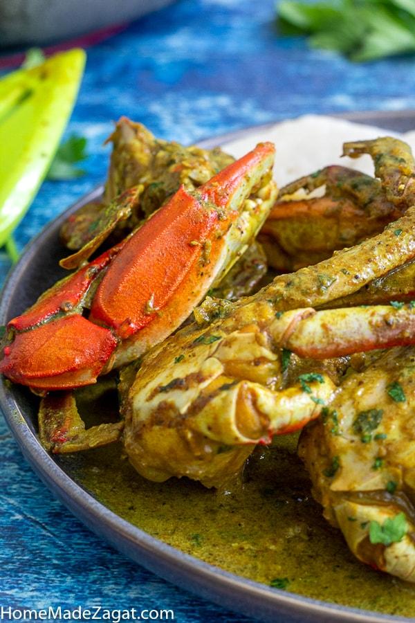 Curry crab gundy