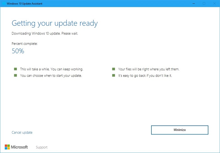Windows 10 Update Assistant 5