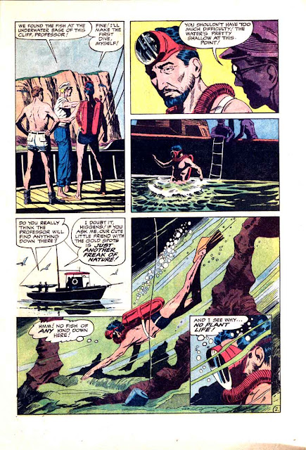 Alarming Adventures v1 #3 harvey 1960s silver age comic book page art by Al Williamson