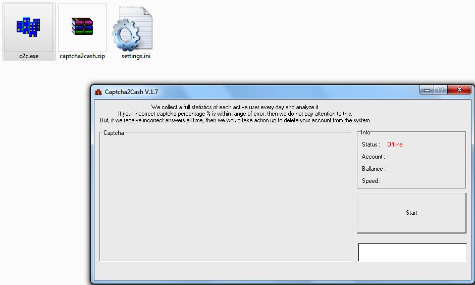 Captha2cash software