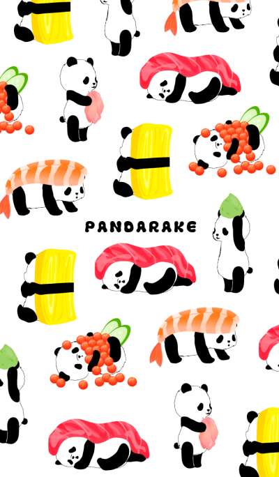 PANDARAKE ver.Sushi