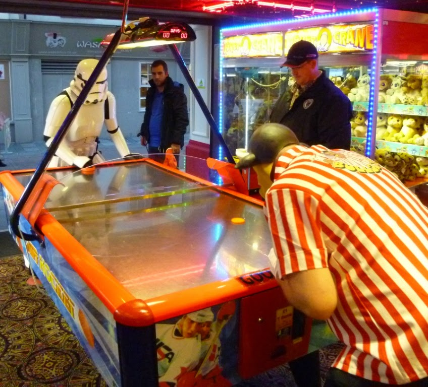 Worlds Crazy Air Hockey Championships 2014