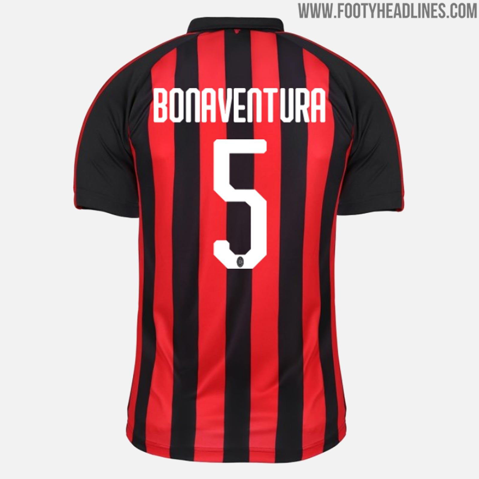 Puma AC Milan 18-19 Kit Font Revealed | Futbolgrid