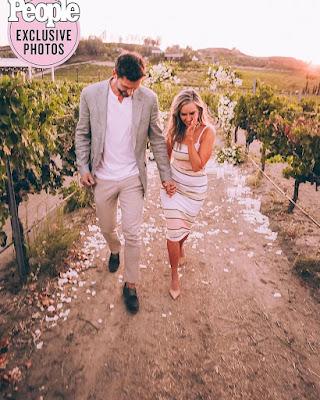 Jessica Batten and fiance Ben