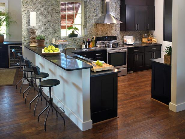 Kitchen Island Breakfast Bar Pictures Ideas From Hgtv: Modern Furniture: Asian Kitchen Design Ideas 2011 From HGTV
