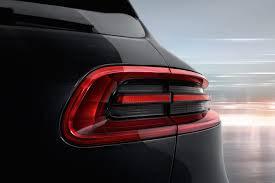 2016 Porsche Macan S  taillight
