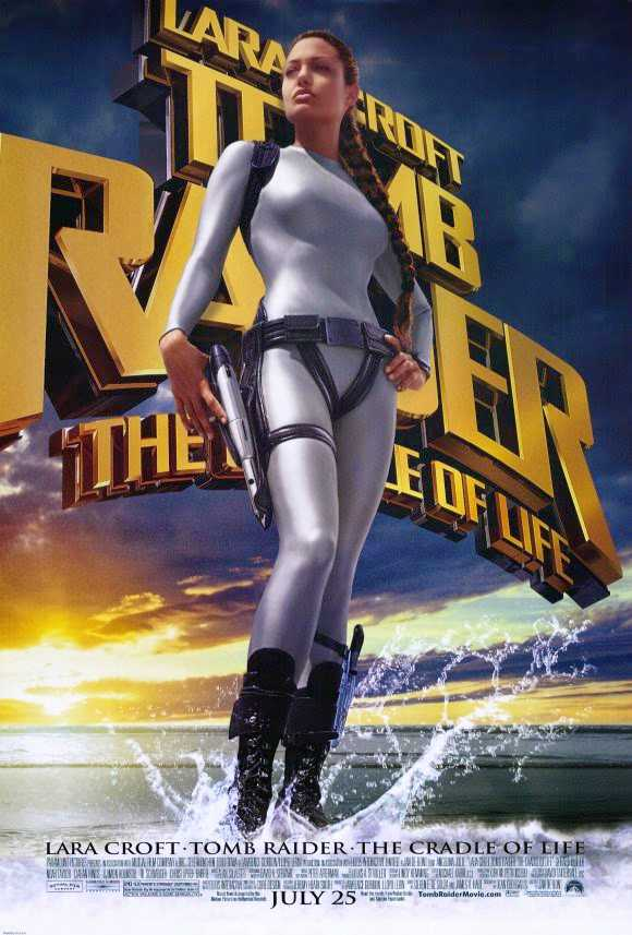 Poster Lara Croft Tomb Raider: The Cradle of Life 2003 Dual Audio HD 720p