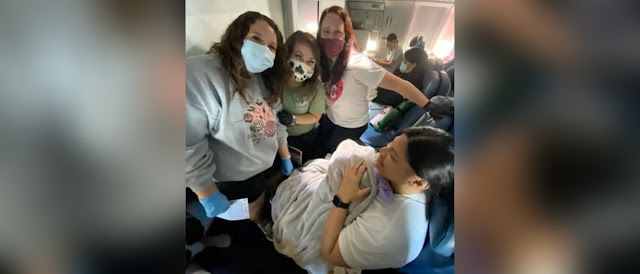 Mãe que não sabia da gravidez dá à luz em voo que levava equipe médica - Adamantina Notìcias