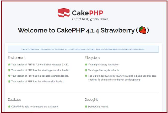 CakePHP 4 Tutorial for Beginners