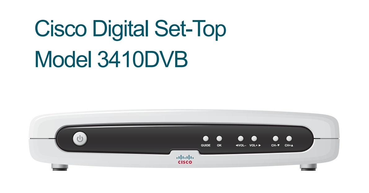 Cisco Cable TV Set Top Box