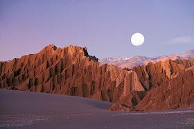 Valle de la Luna no Chile