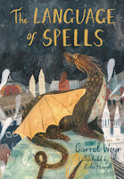 the language of spells by garret weyr, illustrated by katie harnett cover
