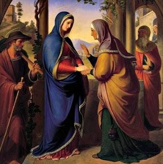 The Visitation - Catholic Daily Reading + Reflection (Homily): 31 May 2021
