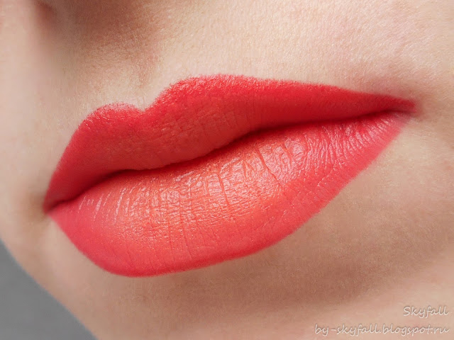 NYX Ombre Lip Duo Peaches and Cream свотчи