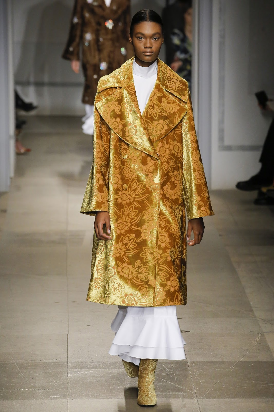 Gold Brocade Coat