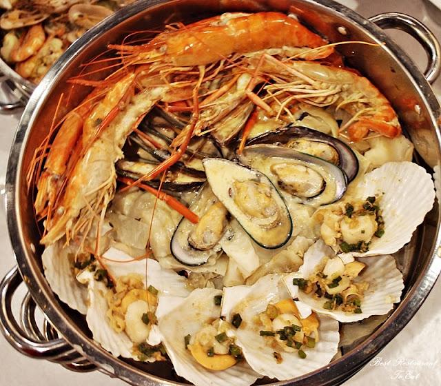 Kai's Plato Seafood Restaurant Steam Seafood Tier 3