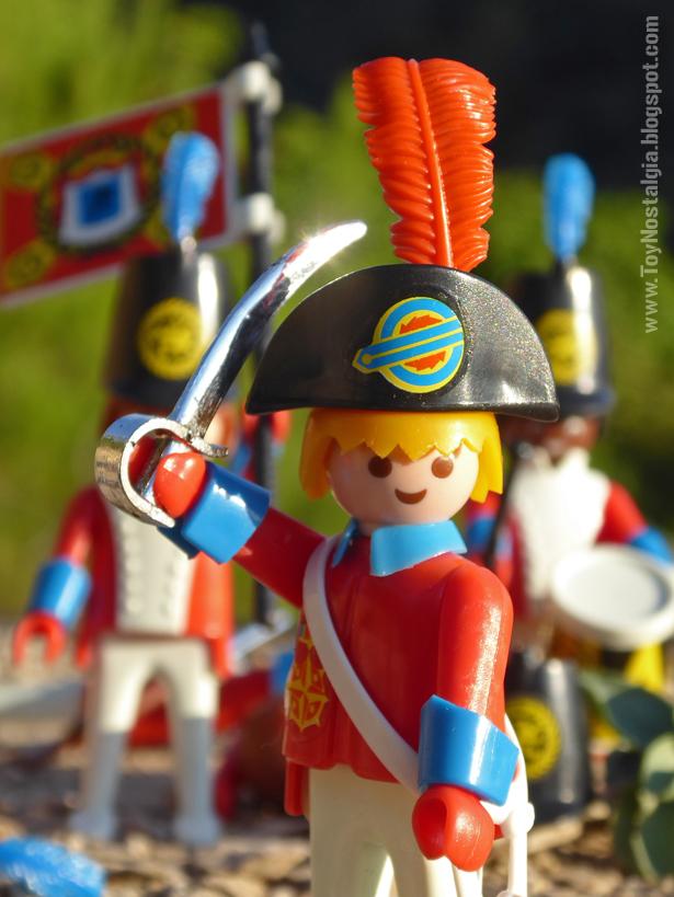 """Playmobil 3544, capitan """"red coat"""" empuñando sable  (Playmobil 3544 - redcoats)"""