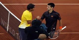Petenis kidal asal Spanyol Rafael Nadal