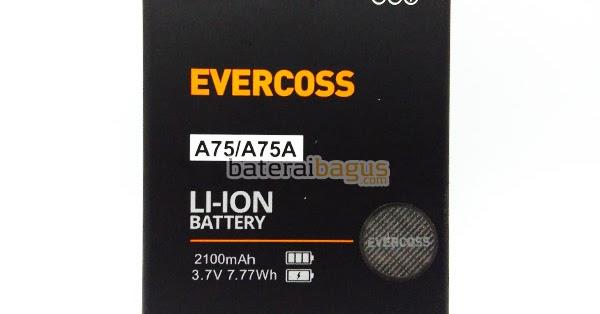 Baterai Evercoss A75 A75A Original 100 Harga Jual Di Bagus