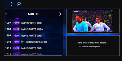 ITS AMAZING NEW LIVE TV APP VERSION : LOTS OF HD/ SD SPORTS 2019
