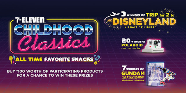 711 Childhood Classics promo banner