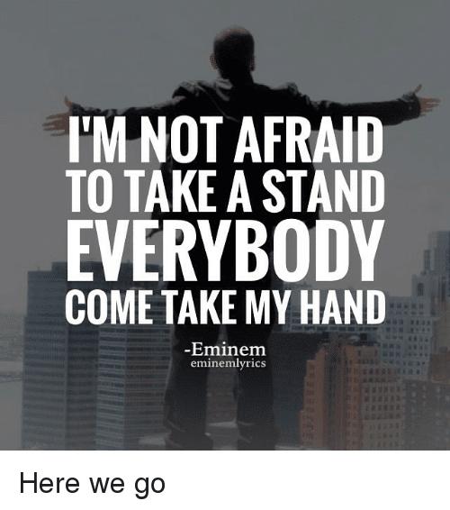 Not Afraid -Eminem JEE Mains