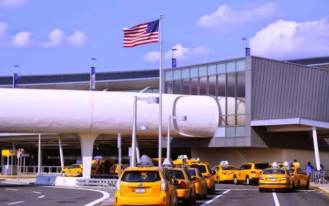 Táxi do aeroporto JFK até Manhattan em Nova York