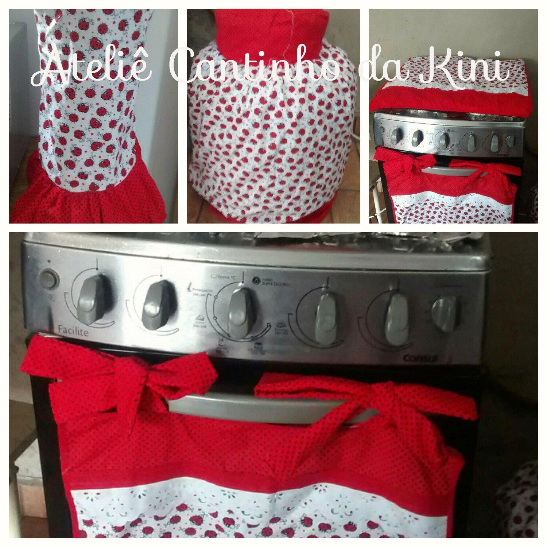 A K Mimos E Kids Ateli Kit De Cozinha Tecido 100 Algod O Com Vi S