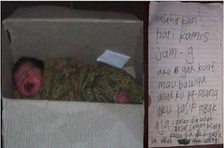Gempar, Orang Tua Buang Bayi Mungil di Masjid, Hanya Tinggalkan Sepucuk Surat.