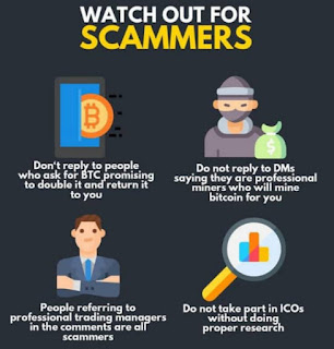 Types of scam Cryptocurrencies project