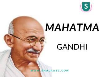 Siapa itu Mahatma Gandhi?