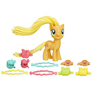 MLP Twisty Twirly Hair Applejack Brushable Pony