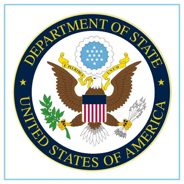 U.S. Department of Sate Logo - Free Download File Vector CDR AI EPS PDF PNG SVG