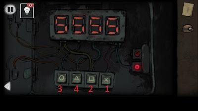 набираем код на панели в игре выход из заброшенной шахты