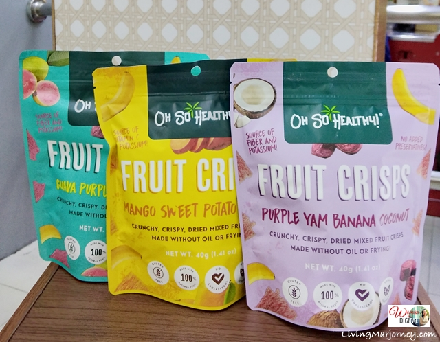 Oh So Healthy Fruit Crisps