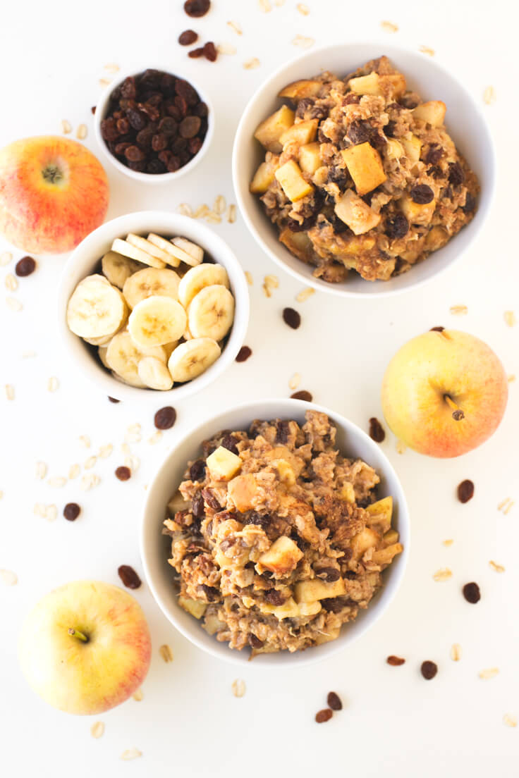 I baked oatmeal porridge. They are a delicious breakfast! | danceofstoves.com #vegan