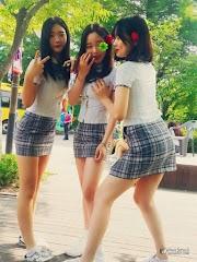 South Korean Short Skirt School Uniforms