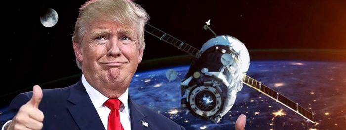 trump lança força espacial