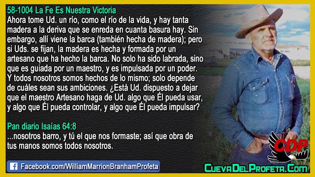 El maestro Artesano - William Branham en Español