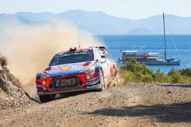 Hyundai World Rally Car rally turkey 2020