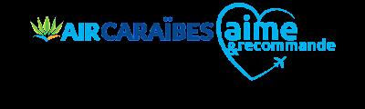 Banniere Air Caraibes : Aime et recommande