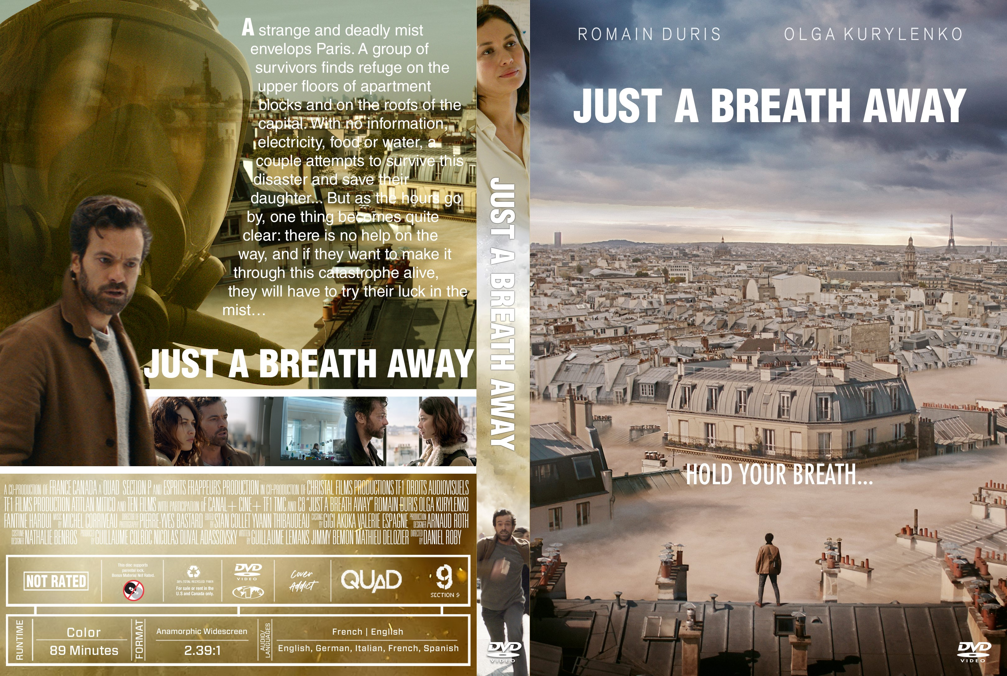 Just A Breath Away Dans La Brume Dvd Cover Cover Addict Free Dvd Bluray Covers And Movie Posters Just a Breath Away