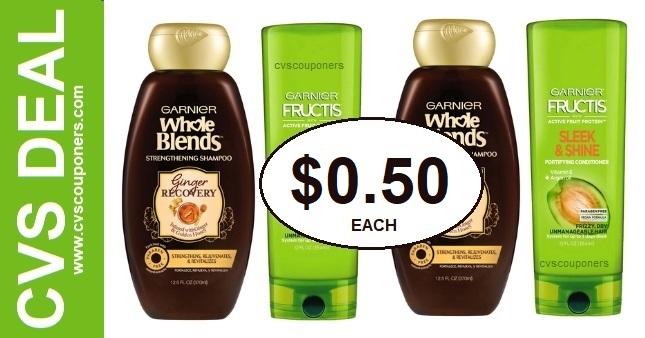 Garnier Whole Blends CVS Deal $0.50 6-14-6-20